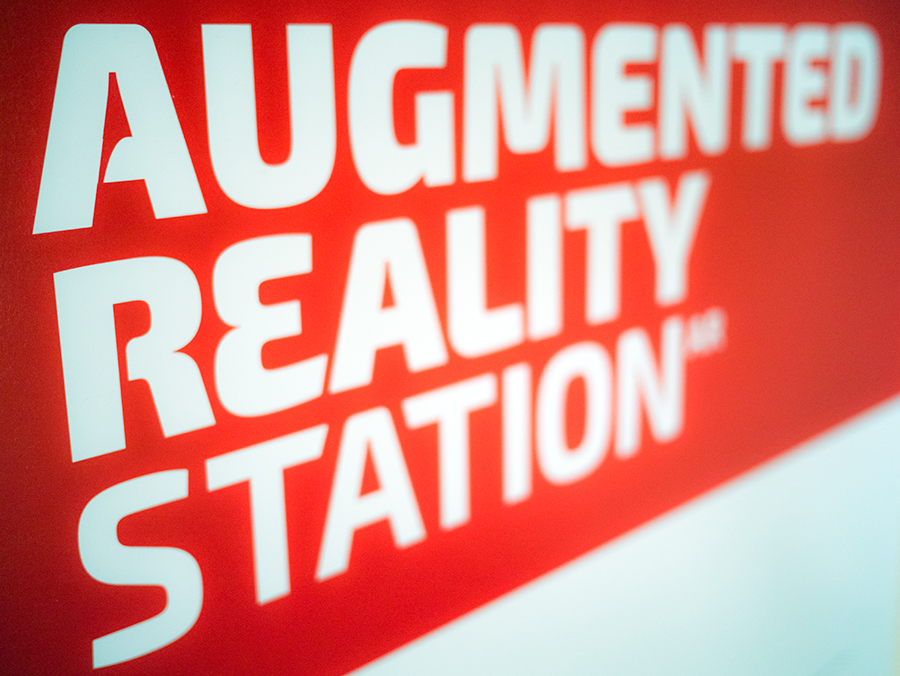 Augmented Reality Station Logo